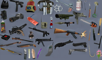 Weapons Retextured and Colored Weapon Icon Pack V1 Final (1024x1024)