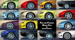 Fast and Furious Wheel Pack