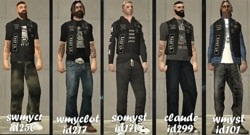 The skin pack of Bikers