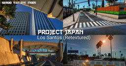 PROJECT JAPAN Los Santos (Retextured)